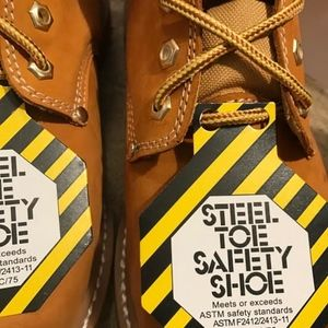 Shoes - STEEL TOE 8' TALL Leather  Workboots